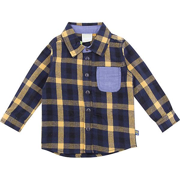 Рубашка Sweet Berry для мальчикаБлузки и рубашки<br>Характеристики товара:<br><br>• цвет: желтый/синий;<br>• состав материала: 100% хлопок;<br>• сезон: демисезон;<br>• застежка: кнопки;<br>• длинные рукава;<br>• накладной нагрудный карман;<br>• страна бренда: Россия<br>• страна производства: Китай<br><br>Стильная хлопковая рубашка из байковой ткани в клетку с накладным карманом контрастного цвета. Длинный рукав. Застегивается на кнопки. Отложной воротничок.<br><br>Рубашку Sweet Berry (Свит Берри) для мальчика можно купить в нашем интернет-магазине.<br>Ширина мм: 174; Глубина мм: 10; Высота мм: 169; Вес г: 157; Цвет: желтый; Возраст от месяцев: 18; Возраст до месяцев: 24; Пол: Мужской; Возраст: Детский; Размер: 92,98,86,80; SKU: 7095529;