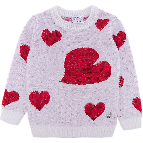 Sweet Berry Джемпер Sweet Berry для девочки sweet sweaters sweet sweaters джемпер 136705