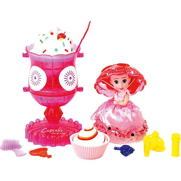 Emco Игровой набор Cupcake Sunrise «Мороженое-туалетный столик с куклой-капкейк»
