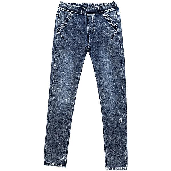 Брюки Luminoso для девочкиДжинсы<br>Характеристики товара:<br><br>• цвет: черный<br>• состав: 98% хлопок, 2% спандекс<br>• сезон: демисезон<br>• пояс: резинка<br>• декор: стразы<br>• страна бренда: Россия<br>• страна производства: Китай<br><br>Стильные брюки для ребенка сделаны из качественного дышащего материала. Такие брюки для детей от Sweet Berry стильно смотрится благодаря декору из страз. Детские брюки помогут создать ребенку комфорт. <br><br>Брюки Luminoso (Люминозо) для девочки можно купить в нашем интернет-магазине.<br>Ширина мм: 215; Глубина мм: 88; Высота мм: 191; Вес г: 336; Цвет: синий; Возраст от месяцев: 156; Возраст до месяцев: 168; Пол: Женский; Возраст: Детский; Размер: 164,134,158,152,146,140; SKU: 7097358;