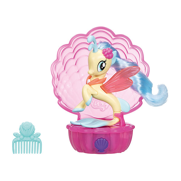 Hasbro Мини-игровой набор Hasbro My Little Pony Мерцание, Принцесса Скайстар veld co игровой набор с мини куклой my lovely princess цвет одежды сиреневый розовый голубой