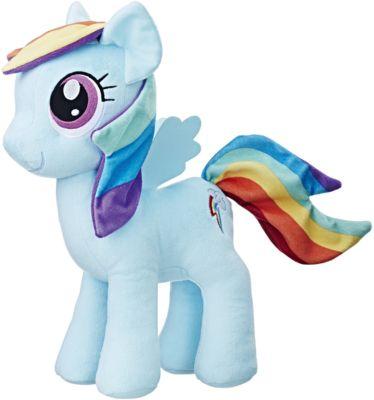 Мягкая игрушка Hasbro My little Pony  Плюшевые пони  Рэйнбоу Дэш, 30 см, артикул:7098831 - Мягкие игрушки