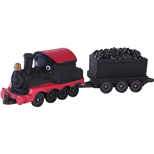 Jazwares Паровозик Jazwares Chuggington, Пит с вагончиком chuggington chuggington die cast паровозик гаррисон