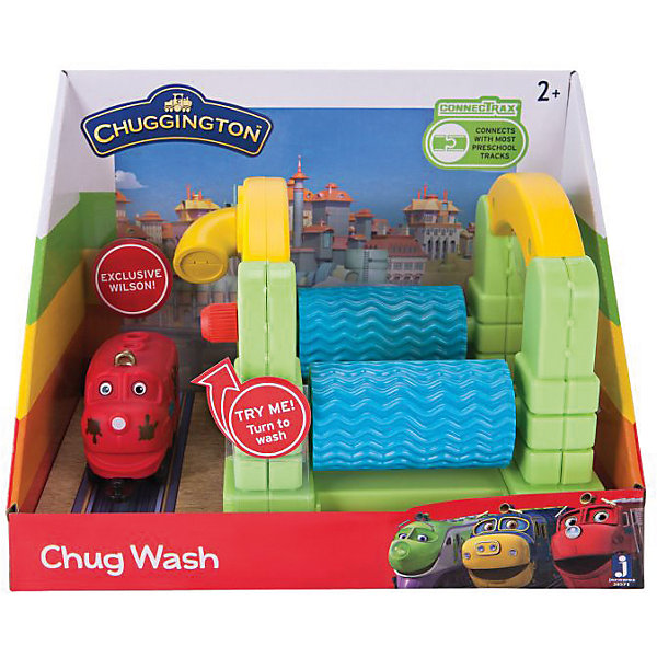 Jazwares Игровой набор Jazwares Chuggington, Мойка