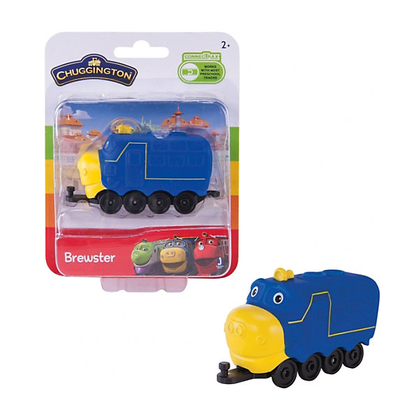 Jazwares Паровозик Jazwares Chuggington, Брюстер snk p0050ap4