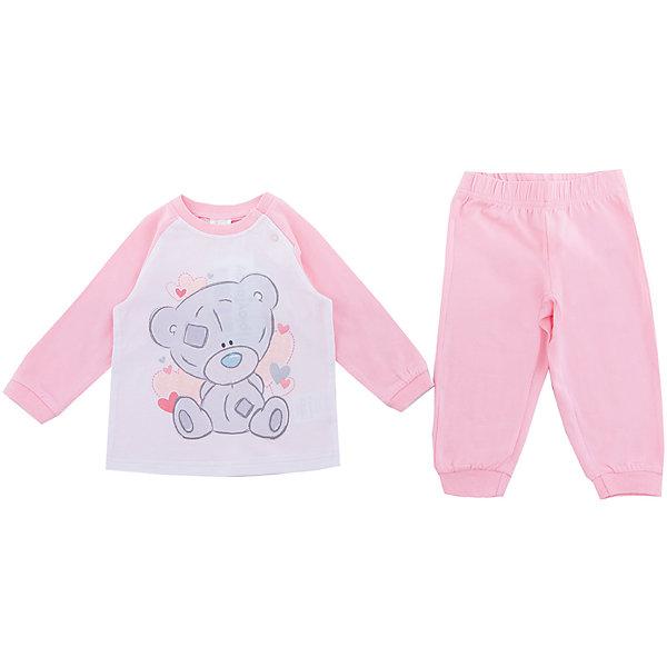 PlayToday Футболка с длинным рукавом PlayToday для девочки футболка с длинным рукавом для девочки playtoday цвет голубой белый светло розовый 182069 размер 146 152
