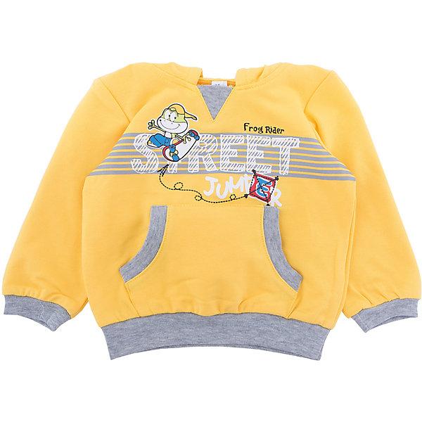 PlayToday Толстовка PlayToday для мальчика playtoday playtoday брюки для мальчика  голубые