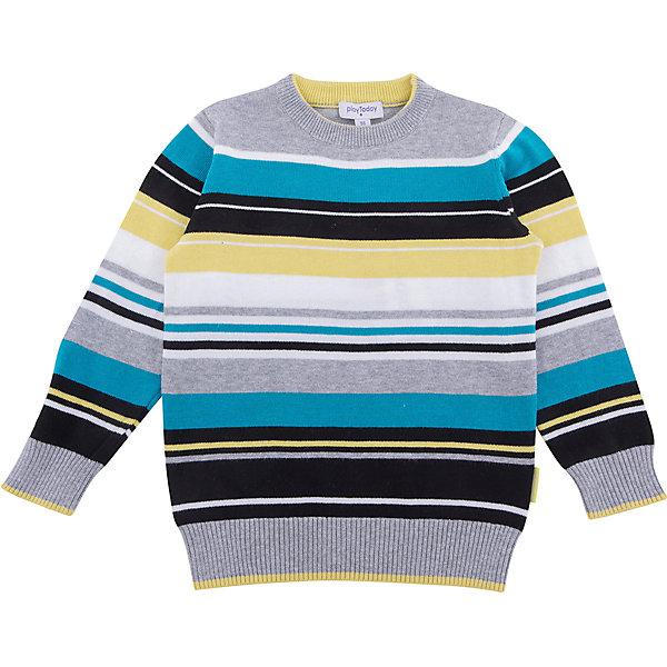 Джемпер PlayToday для мальчикаСвитера и кардиганы<br>Характеристики товара:<br><br>• цвет: серый<br>• состав ткани: 50% вискоза, 50% нейлон<br>• сезон: демисезон<br>• длинные рукава<br>• страна бренда: Германия<br>• страна изготовитель: Китай<br><br>Детская одежда и обувь от PlayToday - это стильные вещи по доступным ценам. Такой джемпер для мальчика - удобная и модная вещь. Детский джемпер снабжен удобными манжетами. Теплый джемпер для детей сделан из дышащего материала. <br><br>Джемпер PlayToday (ПлэйТудэй) для мальчика можно купить в нашем интернет-магазине.<br>Ширина мм: 190; Глубина мм: 74; Высота мм: 229; Вес г: 236; Цвет: белый; Возраст от месяцев: 24; Возраст до месяцев: 36; Пол: Мужской; Возраст: Детский; Размер: 98,128,122,116,110,104; SKU: 7110597;