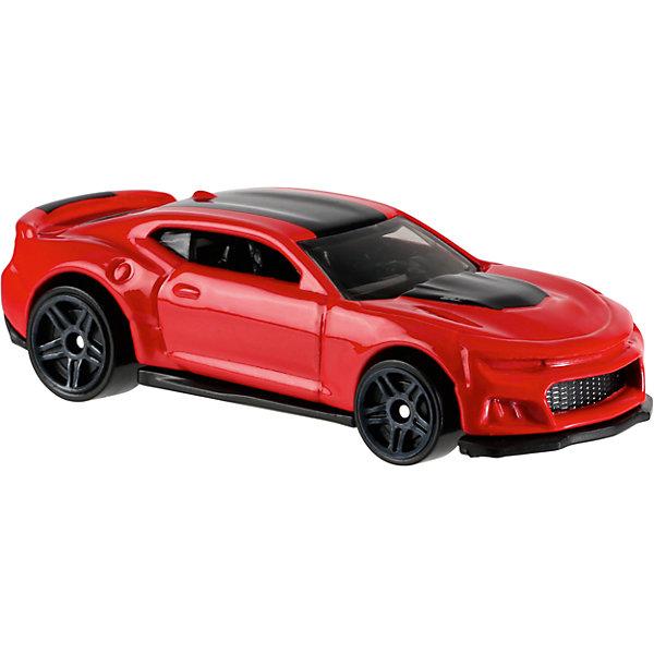 Базовая машинка Hot Wheels, 2017 Camaro ZL1Машинки<br>Характеристики товара:<br><br>• возраст: от 3 лет;<br>• материал: пластик, металл;<br>• масштаб: 1:64;<br>• размер упаковки: 11х11х4,5 см;<br>• вес упаковки: 30 гр.;<br>• страна бренда: США.<br><br>Машинка Hot Wheels из базовой коллекции — легендарная коллекционная машинка от известного бренда Mattel. Машинка отличается высокой детализацией, выглядит эффектно, корпус выполнен в ярких расцветках. Она дополнит большую коллекцию машинок Hot Wheels. Выполнена из прочных и безопасных материалов.<br><br>Машинку Hot Wheels из базовой коллекции можно приобрести в нашем интернет-магазине.<br>Ширина мм: 110; Глубина мм: 45; Высота мм: 110; Вес г: 30; Возраст от месяцев: 36; Возраст до месяцев: 96; Пол: Мужской; Возраст: Детский; SKU: 7111111;