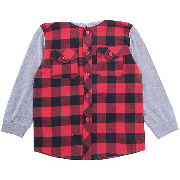 PlayToday Рубашка PlayToday для мальчика playtoday playtoday брюки для мальчика  голубые