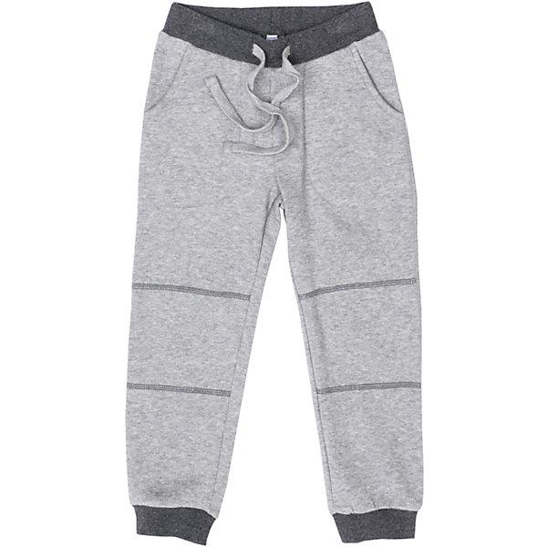 Брюки PlayToday для мальчикаБрюки<br>Характеристики товара:<br><br>• цвет: серый<br>• состав ткани: 65% хлопок, 35% полиэстер<br>• сезон: демисезон<br>• особенности модели: спортивный стиль<br>• пояс: резинка, шнурок<br>• страна бренда: Германия<br>• страна изготовитель: Китай<br><br>Детская одежда и обувь от европейского бренда PlayToday - выбор многих родителей. Брюки с начесом для мальчика легко надеваются благодаря резинке в поясе. Детские брюки - с двумя вшивными передними карманами и двумя накладными задними. Спортивные брюки для детей сделаны из дышащего качественного материала. <br><br>Брюки PlayToday (ПлэйТудэй) для мальчика можно купить в нашем интернет-магазине.<br>Ширина мм: 215; Глубина мм: 88; Высота мм: 191; Вес г: 336; Цвет: белый; Возраст от месяцев: 24; Возраст до месяцев: 36; Пол: Мужской; Возраст: Детский; Размер: 98,128,122,116,110,104; SKU: 7111463;