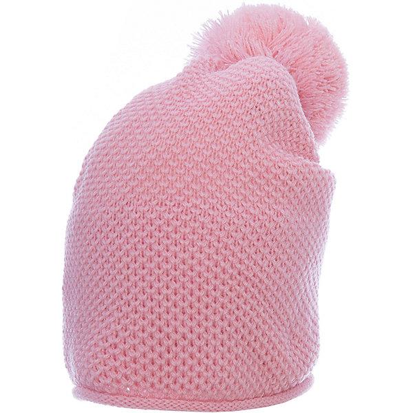 Шапка PlayToday для девочкиДемисезонные<br>Характеристики товара:<br><br>• цвет: розовый<br>• состав ткани: 100% акрил<br>• сезон: демисезон<br>• страна бренда: Германия<br>• страна изготовитель: Китай<br><br>Детская одежда и обувь от PlayToday - это стильные вещи по доступным ценам. Теплая шапка для девочки не линяет и надолго остается в прежнем виде. Детская шапка комфортно сидит на голове благодаря мягкому материалу. Шапка для детей декорирована помпоном. <br><br>Шапку PlayToday (ПлэйТудэй) для девочки можно купить в нашем интернет-магазине.<br>Ширина мм: 89; Глубина мм: 117; Высота мм: 44; Вес г: 155; Цвет: белый; Возраст от месяцев: 72; Возраст до месяцев: 84; Пол: Женский; Возраст: Детский; Размер: 50,52,54; SKU: 7115520;