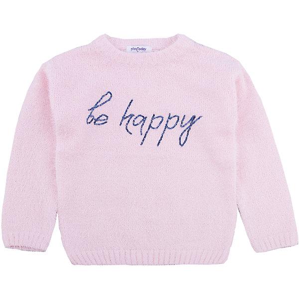 Фото - PlayToday Джемпер PlayToday для девочки джемпер для девочки let s go монстры цвет розовый персиковый 6181 размер 122