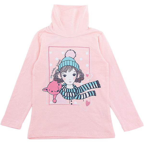 Водолазка PlayToday для девочкиВодолазки<br>Характеристики товара:<br><br>• цвет: розовый<br>• состав ткани: 95% хлопок, 5% эластан<br>• сезон: демисезон<br>• длинные рукава<br>• страна бренда: Германия<br>• страна изготовитель: Китай<br><br>Одежда и аксессуары для детей от PlayToday - это качественные и красивые вещи. Эта водолазка для девочки снабжена мягким воротом. Детская водолазка декорирована принтом. Водолазка для детей сделана из приятного на ощупь трикотажа. <br><br>Водолазку PlayToday (ПлэйТудэй) для девочки можно купить в нашем интернет-магазине.<br>Ширина мм: 230; Глубина мм: 40; Высота мм: 220; Вес г: 250; Цвет: белый; Возраст от месяцев: 24; Возраст до месяцев: 36; Пол: Женский; Возраст: Детский; Размер: 98,128,122,116,110,104; SKU: 7115709;