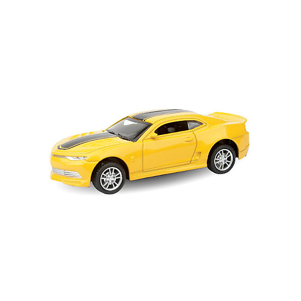 Автомобиль Autotime Junior Motors - Chevrolet Camaro, 1:36Машинки<br>Характеристики:<br><br>• вес в упаковке: 180г.;<br>• материал: металл, пластик;<br>• размер упаковки: 16х7х13см.;<br>• размер машины: длина 11см.;<br>• упаковка: картонная коробка;<br>• для детей в возрасте: от 3 лет.;<br>• страна производитель: Китай.<br><br>Это макет настоящей машины, сделанный в масштабе 1 к 36. Он создан из качественного металла, покрашенного экологически чистыми красками, с элементами пластика. <br><br> Коллекционные машины данного бренда прекрасно проработаны в деталях и полностью повторяют реальную модель данной марки. Макет действующий. Двери, капот и багажник можно открывать. Вращающиеся колёса хорошо подчиняются рулю.<br><br>Такая машина заинтересует не только ребятишек, но и взрослых. Вместе они могут собрать полный автопарк данной серии. Играя дети развивают познания в марках автомобилей, фантазию, мелкую моторику и просто весело проводят время.<br><br>Коллекционная машина «USA Sport Coupe» (ЮЭсЭй Спорт Купе) можно купить в нашем интернет-магазине.<br>Ширина мм: 150; Глубина мм: 60; Высота мм: 75; Вес г: 145; Возраст от месяцев: 36; Возраст до месяцев: 2147483647; Пол: Мужской; Возраст: Детский; SKU: 7118141;