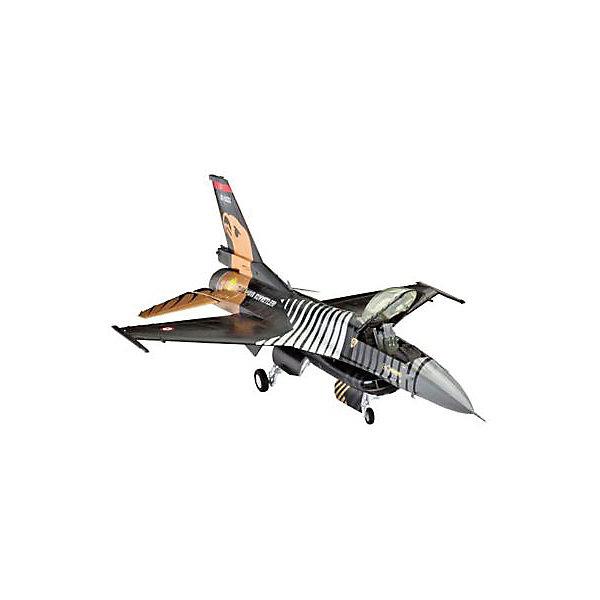 Revell Самолет Истребитель F-16 C SOLO TÜRK, на вооружении турецких ВВС амберкинг фигурка самолет истребитель ястреб