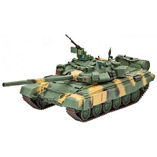 Танк Т-90, РоссияВоенная техника и панорама<br>Сборная модель современного российского танка Т-90. На текущий момент Т-90 является самым современным танков в армии России.  <br>Создавался как модернизация Т-72Б. Танк оснащен 125 мм орудием, способным вести огонь, как стандартными боеприпасами, так и ПТУРами. Т-90 имеет сварной корпус и литую башню. Танк оборудован активной защитой, состоящей из комплекса оптико-электронного подавления Штора-1. Комплекс предназначен для защиты от поражения танка противотанковыми управляемыми ракетами и состоит из станции оптико-электронного подавления и системы постановки завес. С 2001 по 2010 годы Т-90 стал самым продаваемым танком на мировом рынке. <br>Масштаб: 1:72 <br>Количество деталей: 157 <br>Длина модели: 142 мм <br>Уровень сложности: 5 <br>В комплект входят декали для постройки моделей в варианте Вооруженных сил РФ (2005 и 2011 годов) и в варианте индийской армии (2004) <br>Клей и краски в комплект не входят.<br>Ширина мм: 243; Глубина мм: 158; Высота мм: 36; Вес г: 190; Возраст от месяцев: 144; Возраст до месяцев: 2147483647; Пол: Мужской; Возраст: Детский; SKU: 7122328;
