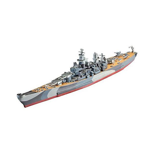 Корабль военный U.S.S. Missouri 2-я МВКорабли и подводные лодки<br>Сборная модель американского линкора  U.S.S. Missouri  в масштабе 1:1200. Модель выполнена из пластика и для ее сборки вам понадобится клей.  <br>U.S.S. Missouri  - являлся крупнейшим и самым мощным кораблем ВМС США во время Второй мировой войны.  Корабль вошел в строй в июне 1944 и стал последним из кораблей класса Айова, принятым на вооружение.  Линкор принимал участие в боях за остров Иводзима. Также на нем была подписана капитуляция Японии 2 сентября в 1945 году. <br>Масштаб: 1:1200 <br>Длина модели: 225 мм <br>Количество деталей:  27 <br>Рекомендуется для детей от 10 лет. <br>Внимание! Клей и краски в комплект не входят. Они приобретаются отдельно.<br>Ширина мм: 252; Глубина мм: 132; Высота мм: 35; Вес г: 110; Возраст от месяцев: 120; Возраст до месяцев: 2147483647; Пол: Мужской; Возраст: Детский; SKU: 7122339;