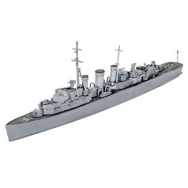 Крейсер H.M.S AriadneКорабли и подводные лодки<br>Представляем вашему вниманию сборную модель британского миноносца Ариадна. Внешний вид модели соответствует прототипу 1943 года. В ходе Второй Мировой войны миноносец использовался в основном на тихоокеанском театре военных действий. И лишь в конце войны судно вернулось в Атлантику, вернув на родину из японского плена британских военнослужащих.  <br>Вам потребуется самостоятельно собрать и покрасить модель. Для этих целей вам пригодится специальный клей и акриловые или эмалевые краски Revell. Расходные материалы в данный набор не входят и приобретаются отдельно. <br>Масштаб: 1:700<br>Количество деталей: 76<br>Длина модели в собранном виде: 18,1 см<br>Рекомендуется для детей от 10 лет.<br>Ширина мм: 207; Глубина мм: 34; Высота мм: 132; Вес г: 110; Возраст от месяцев: 120; Возраст до месяцев: 2147483647; Пол: Мужской; Возраст: Детский; SKU: 7122352;