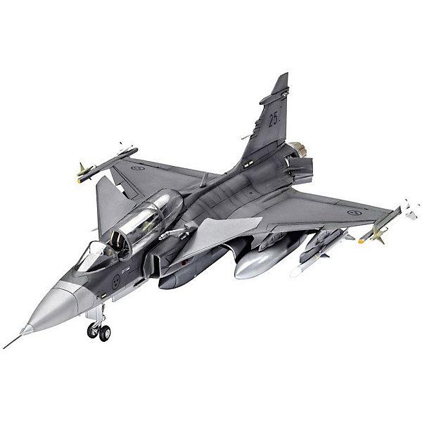 Revell Истребитель-бомбардировщик Сааб JAS-39D Грипен двухместный cogo конструктор строительных блоков в военной серии малозаметный бомбардировщик истребитель 400 деталей 13351
