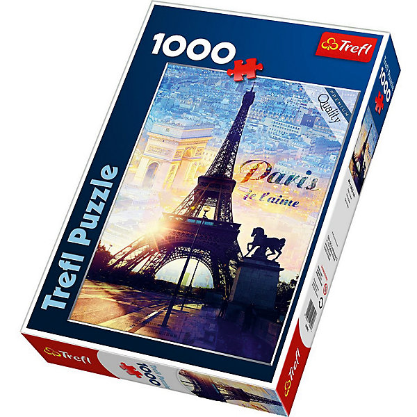 Trefl Пазлы Trefl Париж на рассвете, 1000 деталей