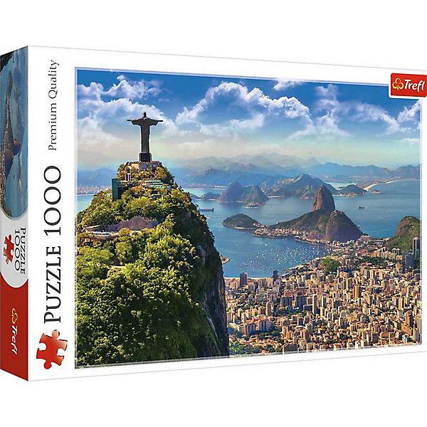Trefl Пазлы Trefl Рио-де-Жанейро, 1000 деталей пазлы ravensburger паззл маяк на полуострове брус 1000 шт