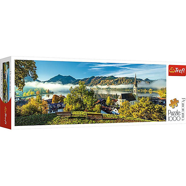 Trefl Пазлы панорамные «На берегу озера, Шлирзе», 1000 деталей цена
