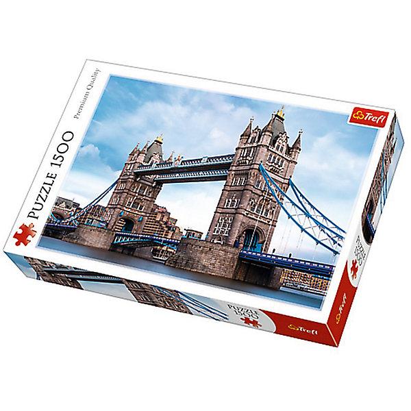 Trefl Пазлы Тауэрский мост через Темзу, 1500 элементов trefl классические пазлы для малышей дикие животные 1 от 2 лет