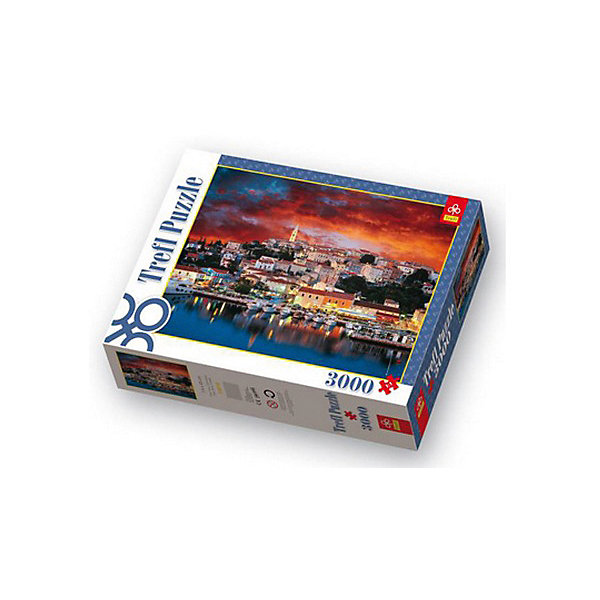 3000 дет. - Врсар, Истрия, ХорватияПазлы классические<br>Характеристики товара:<br><br>• количество деталей: 3000 шт.;<br>• размер картинки: 116х85 см;<br>• возраст: от 14 лет;<br>• материал: картон;<br>• размер упаковки: 40х26,5х9 см;<br>• страна бренда: Польша;<br>• страна производитель: Польша.<br><br>Удивительно красивые пазлы от Trefl позволят интересно провести время в одиночестве или в большой компании. Набор «Врсар» состоит из 3000 элементов, изготовленных из высококачественных материалов, которые обеспечивают картинке прочность, долговечность и устойчивость к деформации. На картинке изображено город Врсар, расположенный на полуострове Истрия. Прекрасный пейзаж станет достойным украшением любого дома. Кроме того, собирание пазлов благотворно влияет на развитие логики, мелкой моторики и внимательности.<br><br>3000 дет. - Врсар, Истрия, Хорватия, Trefl (Трефл) можно купить в нашем интернет-магазине.<br>Ширина мм: 410; Глубина мм: 378; Высота мм: 278; Вес г: 1950; Возраст от месяцев: 168; Возраст до месяцев: 2147483647; Пол: Унисекс; Возраст: Детский; SKU: 7126427;