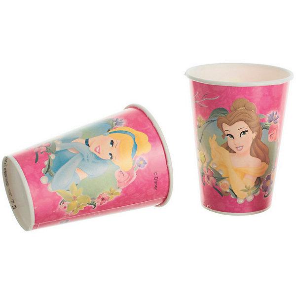 Стаканы Принцессы Дисней «Красивые Принцессы»День рождения Принцессы<br>Стаканы Принцессы Дисней «Красивые Принцессы» – незаменимая вещь для любого праздника, в котором принимают участие поклонницы мультфильмов Дисней. Стаканы розового цвета не смогут остаться без внимания гостей, ведь на каждом из них изображена одна из принцесс в шикарном платье. Расставив стаканы на столе, каждый гость сможет выбрать себе стакан с изображением своего любимого персонажа. Также их можно использовать для пикников на природе, где они, благодаря яркому солнцу, будут смотреться еще красочней и ярче. Стаканы изготовлены из качественного пластика, совершенно безопасного для детей. <br>Вместимость одного стакана: 200 мл. <br>В комплекте: 8 стаканов. <br>Рекомендуемый возраст: от 3 лет.<br>Ширина мм: 70; Глубина мм: 70; Высота мм: 125; Вес г: 30; Возраст от месяцев: 36; Возраст до месяцев: 2147483647; Пол: Женский; Возраст: Детский; SKU: 7128901;