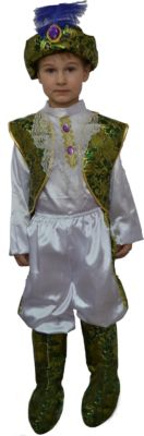 Карнавальный костюм для детей  Арабский принц , артикул:7128972 - Детские карнавальные костюмы и аксессуары