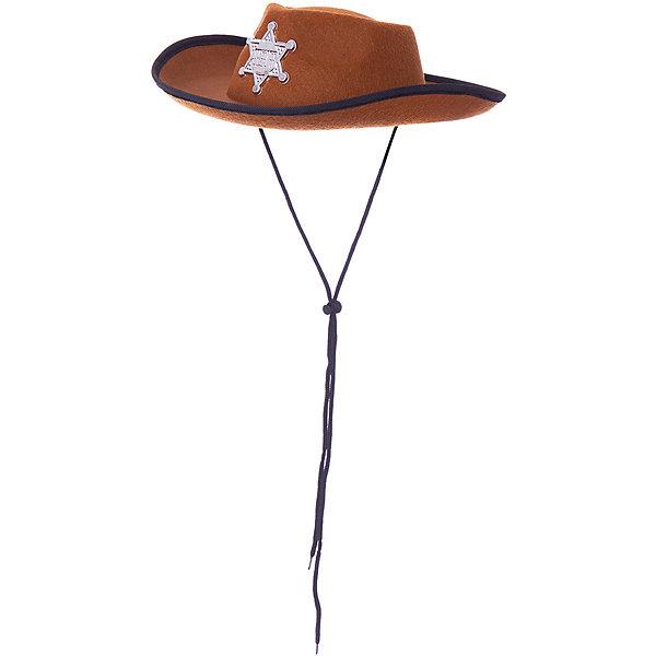 Magic Time Маскарадная шляпа Шериф для детей r mountain шляпа