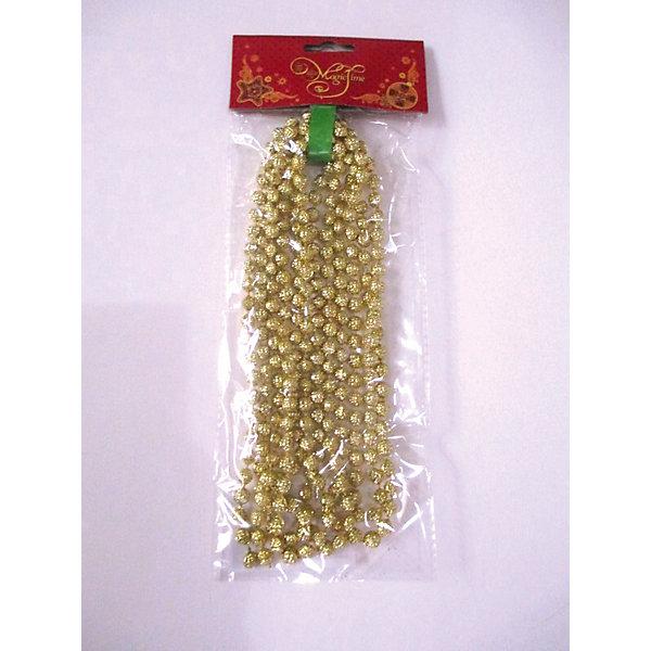 Magic Time Новогодняя гирлянда Золотой маскарад арт.38683 гирлянда новогодняя eurohouse цвет желтый красный зеленый длина 322 см
