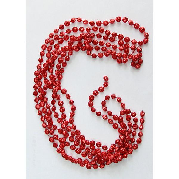 Magic Time Новогодняя гирлянда Красный маскарад из полистирола, 76088 magic time красный дождик 9 150 см