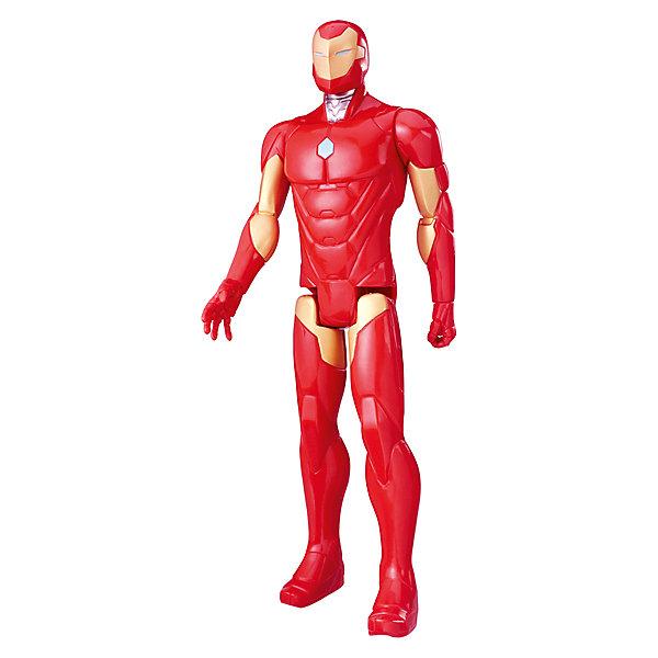 Фото - Hasbro Фигурка Мстители Hasbro Титаны, Железный человек фигурка железный человек режим сражения hasbro e0560