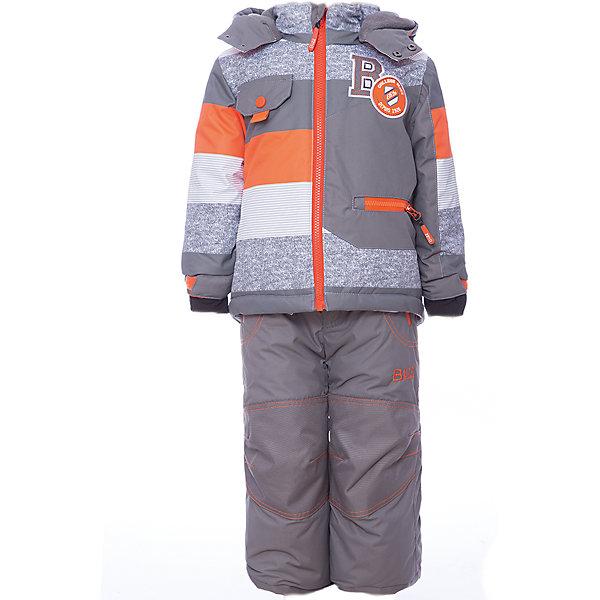 Комплект: куртка и брюки BLIZZ для мальчикаВерхняя одежда<br>Характеристики товара:<br><br>• цвет: оранжевый, серый<br>• комплектация: куртка и брюки<br>• состав ткани: полиэстер<br>• подкладка: куртка - флис, брюки - 100% полиэстер<br>• утеплитель: тек-полифилл<br>• сезон: зима<br>• мембранное покрытие<br>• температурный режим: от -40 до 0<br>• водонепроницаемость: 5000 мм <br>• паропроницаемость: 5000 г/м2<br>• плотность утеплителя: грудь и спина 220 г/м2, рукава и брюки 170 г/м2<br>• застежка: молния<br>• капюшон: без меха, съемный<br>• брюки усилены износостойкими вставками<br>• страна бренда: Канада<br>• страна изготовитель: Китай<br><br>Мембранный комплект для мальчика позволяет коже дышать. Верх детской зимней куртки и брюк не промокает и не продувается. Мягкая подкладка детского комплекта для зимы приятна на ощупь. Комплект для зимы усилен износостойкими накладками.<br><br>Комплект: куртка и брюки Blizz (Близ) для мальчика можно купить в нашем интернет-магазине.<br>Ширина мм: 356; Глубина мм: 10; Высота мм: 245; Вес г: 519; Цвет: оранжевый; Возраст от месяцев: 18; Возраст до месяцев: 24; Пол: Мужской; Возраст: Детский; Размер: 92,116/122,116,110,104,98/104,98; SKU: 7131264;