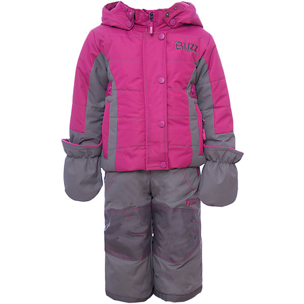 Комплект: куртка и брюки BLIZZ для девочкиВерхняя одежда<br>Характеристики товара:<br><br>• цвет: фуксия<br>• комплектация: куртка и брюки<br>• состав ткани: полиэстер<br>• подкладка: куртка - флис, брюки - 100% полиэстер<br>• утеплитель: тек-полифилл<br>• сезон: зима<br>• мембранное покрытие<br>• температурный режим: от -40 до 0<br>• водонепроницаемость: 5000 мм <br>• паропроницаемость: 5000 г/м2<br>• плотность утеплителя: грудь и спина 220 г/м2, рукава и брюки 170 г/м2<br>• застежка: молния<br>• капюшон: без меха, съемный<br>• брюки усилены износостойкими вставками<br>• страна бренда: Канада<br>• страна изготовитель: Китай<br><br>Яркий комплект Blizz для девочки рассчитан даже на сильные морозы. Мембранный зимний комплект для ребенка отличается продуманным дизайном. Непромокаемый и непродуваемый верх детского комплекта не задерживает воздух. Зимний комплект легкий и износостойкий. <br><br>Комплект: куртка и брюки Blizz (Близ) для девочки можно купить в нашем интернет-магазине.<br>Ширина мм: 356; Глубина мм: 10; Высота мм: 245; Вес г: 519; Цвет: розовый; Возраст от месяцев: 18; Возраст до месяцев: 24; Пол: Женский; Возраст: Детский; Размер: 86/92,86,116/122,116,110,104,98/104,98,92; SKU: 7131319;