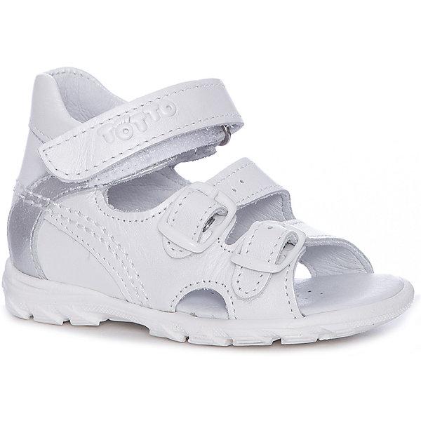 Тотто Сандалии Totto для девочки туфли для девочки тотто цвет коричневый лиловый 10213 кп размер 27