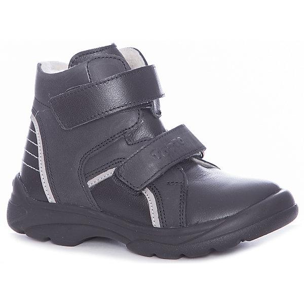 Тотто Ботинки Totto для мальчика ботинки для мальчика flamingo цвет черный 71b xy 0124 размер 23