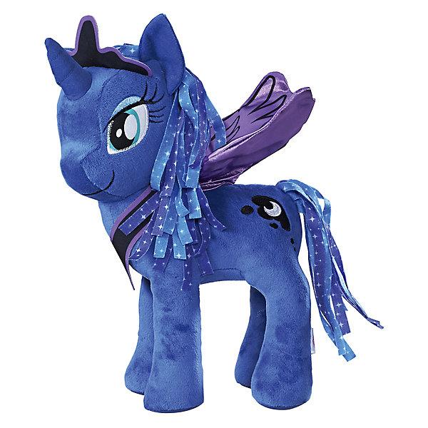 Hasbro Мягкая игрушка Hasbro My little Pony Пони с крыльями, Принцесса Луна hasbro мягкая игрушка hasbro my little pony маленькие плюшевые пони трикси луламун 13 см