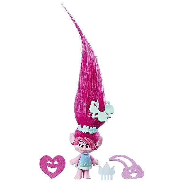 """Фотография товара игровой набор Hasbro """"Trolls"""" Тролль с супер длинными волосами, Розочка (7137784)"""