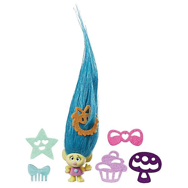 """Фотография товара игровой набор Hasbro """"Trolls"""" Тролль с супер длинными волосами, Кроха (7137785)"""
