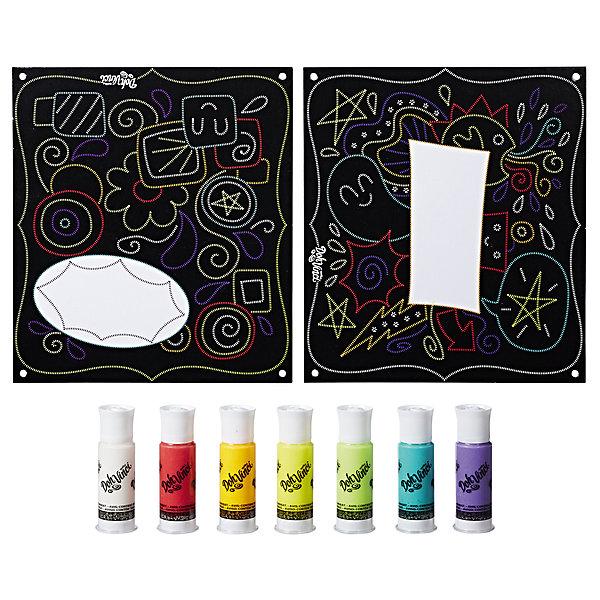 Hasbro Набор для творчества Hasbro DohVinci Арт-трафареты Давинчи, Декоративные узоры набор для творчества альт декоративные наклейки из фоамирана набор 16 фиалки