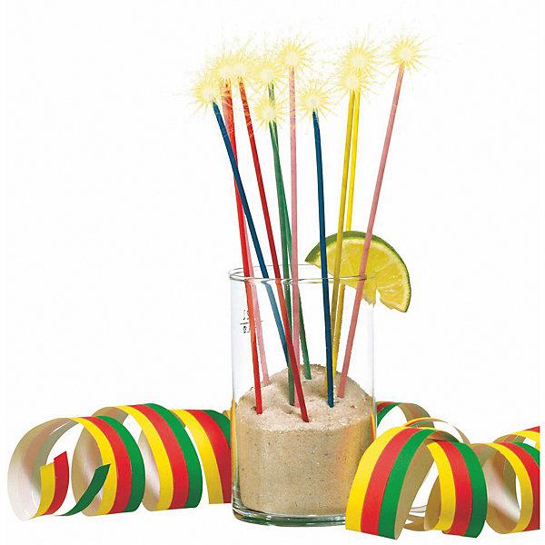 Susy Card Свечи для коктейля с блёстками 24 шт., разноцветные