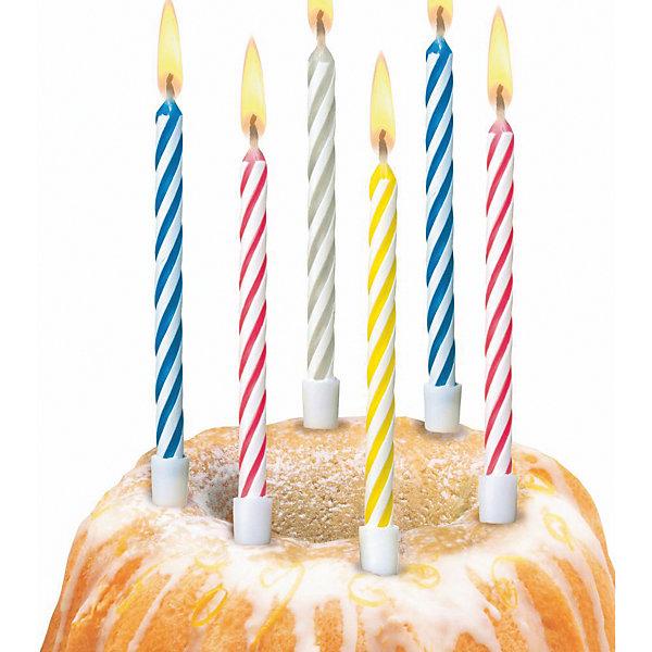 "Susy Card Свечи для торта Susy Card ""Happy Birthday Magic"", 10 шт"