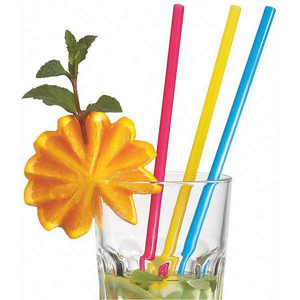 Susy Card Трубочки для коктейля широкие 25 шт, разноцветные