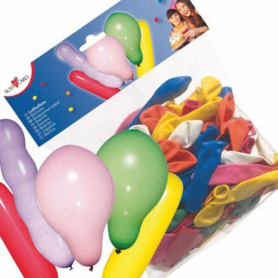 Воздушные шары Susy Card  Фигурные , 100 шт, артикул:7139190 - Украшения для детского праздника