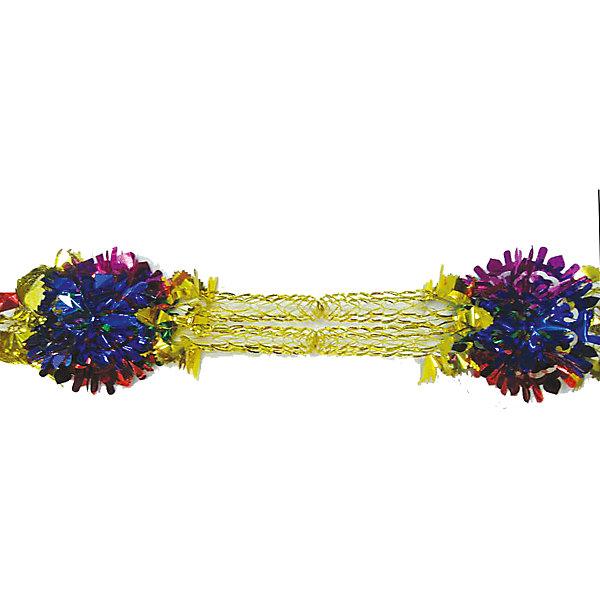Marko Ferenzo гирлянда САЛЮТ золото, разноцветный елочное украшение носок marko ferenzo