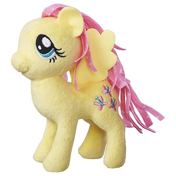 Hasbro Мягкая игрушка Hasbro My little Pony Маленькие плюшевые пони, Флаттершай 13 см hasbro трансформаторы игрушки легендарный уровень игрушка машина черный и белый b1797