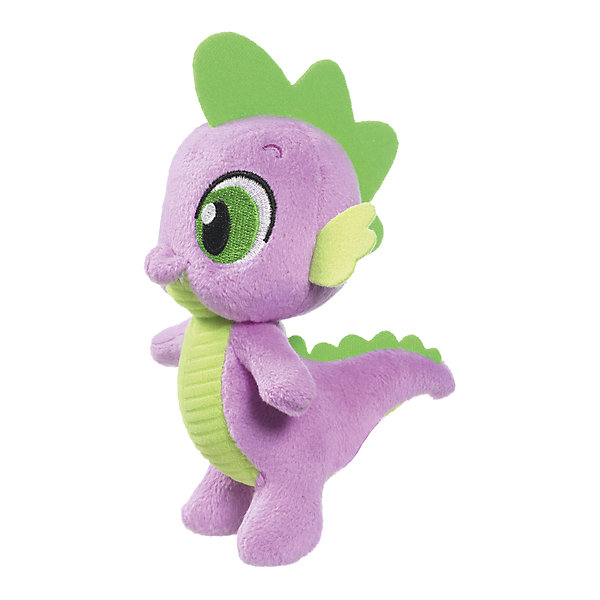 Hasbro Мягкая игрушка Hasbro My little Pony Маленькие плюшевые пони, Дракончик Спайк 13 см развивающие игрушки lamaze дракончик флип флап